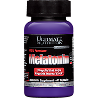 Защита организма Ultimate Nutrition Melatonin 60капс