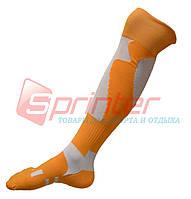 Гетры футбольные взрослые. Оранжевые. WG-4