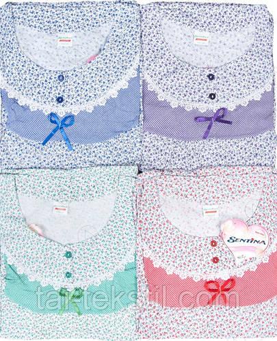 Сентина ночная рубашка хлопок Турция № 158 L (48-50р), фото 2