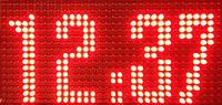 Аренда светодиодного таймера 16х32х5см