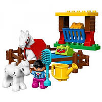 LEGO Duplo Лошадки  R of town take care of the horse 10806