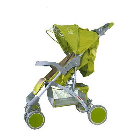 Коляска прогулочная Bambini King green