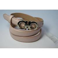 Ремень женский кожаный Salvatore (розовый) Andi 153179_007