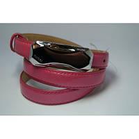 Ремень женский кожаный Gucci (розовый) Andi 153179_010