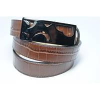 Ремень женский кожаный Аlon (коричневый)