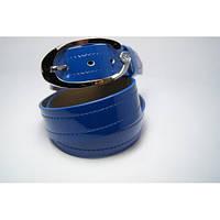 Ремень женский кожаный Аlon (синий)