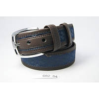 Ремень в стиле Gucci (синий)