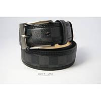 Ремень в стиле Louis Vuitton (серый)