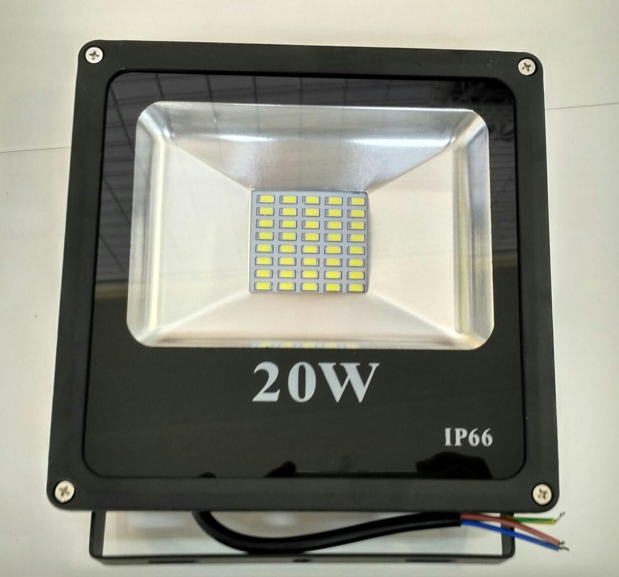 Светодиодный прожектор 20w smd led