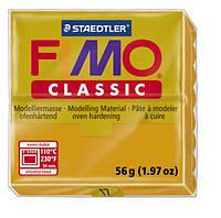 Полимерная глина Fimo Classic Охра 56 гр
