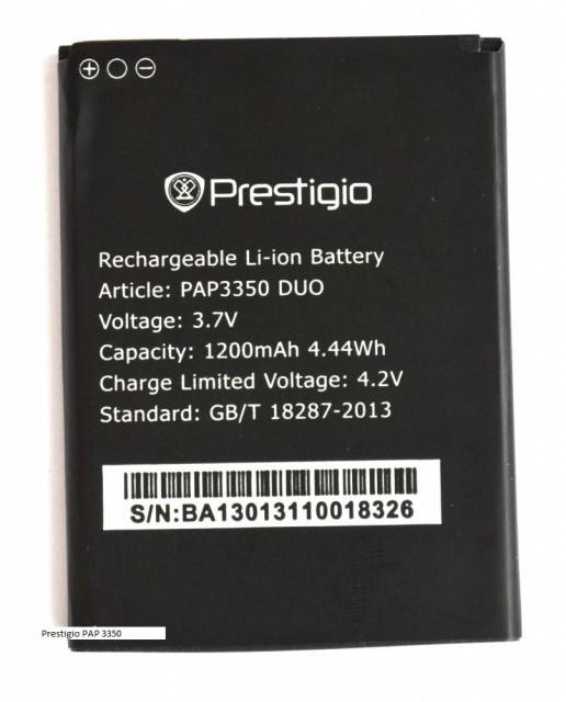 Аккумулятор к телефону Prestigio PAP-3350