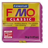 Полимерная глина Fimo Classic Розовая 56 гр