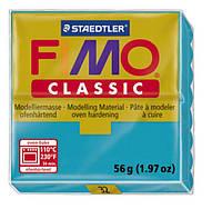 Полимерная глина Fimo Classic Бирюзовая 56 гр