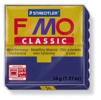 Полимерная глина Fimo Classic Темно-синяя 56 гр