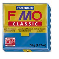 Полимерная глина Fimo Classic Голубая 56 гр