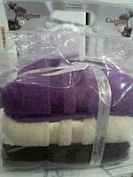 Набор махровых полотенец Hanibaba 3 шт. 70*140 см