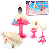 "Набор мебели для куклы Барби ""Ванная комната"" арт. 1213"