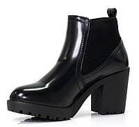 Лакированные ботинки женские