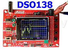 Цифровой осциллограф DSO138, собран и настроен