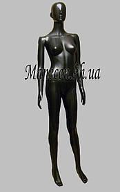 Манекен женский в полный рост Сиваян В.Г аватар черный глянец