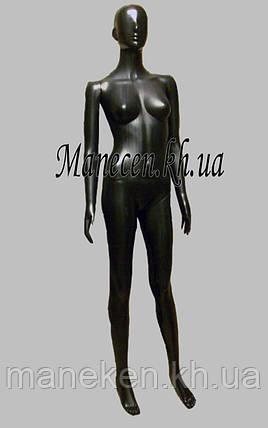 Манекен женский в полный рост Сиваян В.Г аватар черный глянец, фото 2