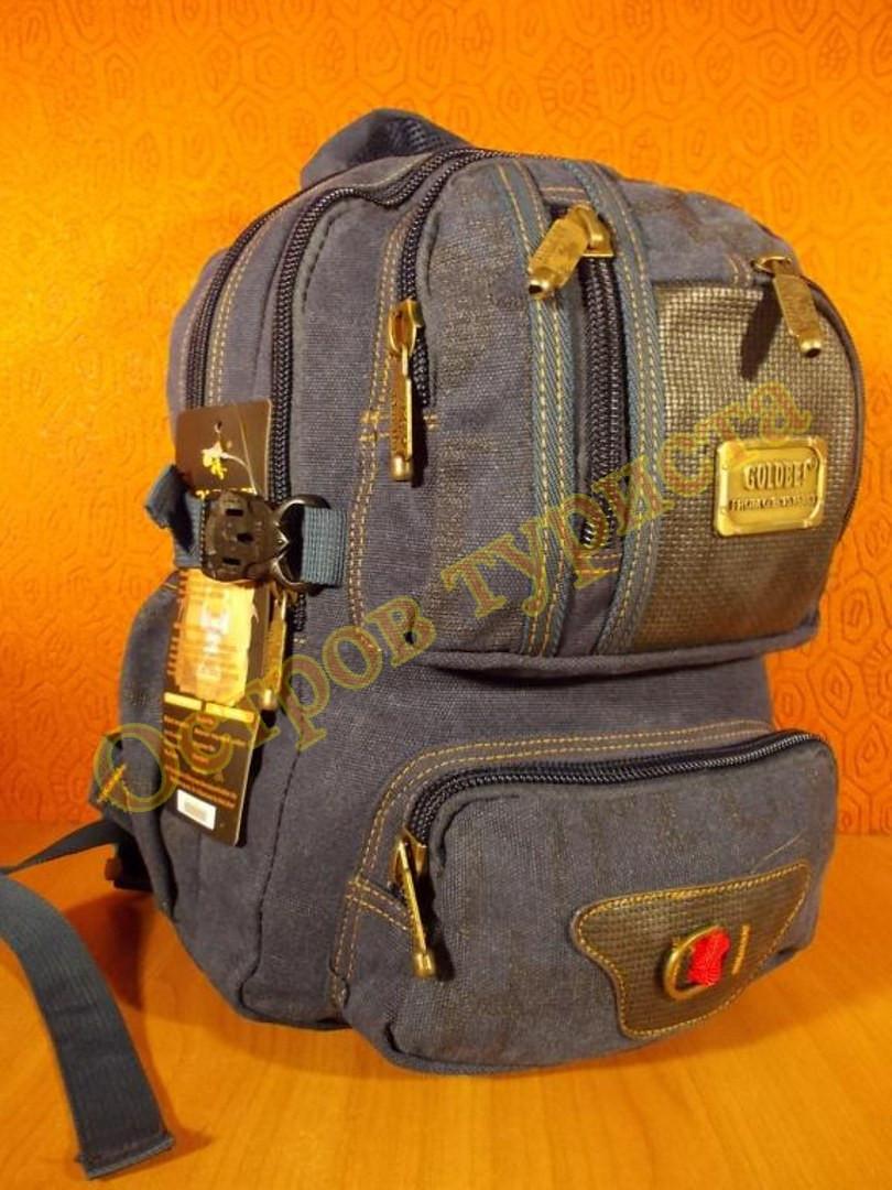 Рюкзак міський спортивний GOLDBE B282 темно - синій