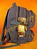 Рюкзак міський спортивний GOLDBE B282 темно - синій, фото 3