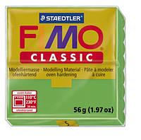 Полимерная глина Fimo Classic Зеленая светлая 56 гр