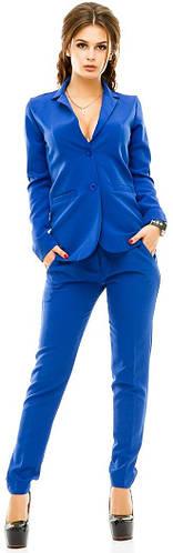 Костюм женский пиджак на пуговицах