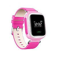 Умные детские часы-телефон (smart baby watch) Q60, оригинал, c GPS трекером, гарантия