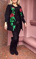 Кардиган женский вышитый пайетками ., фото 1