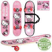 Детский скейтборд (HK 0052) Hello Kitty