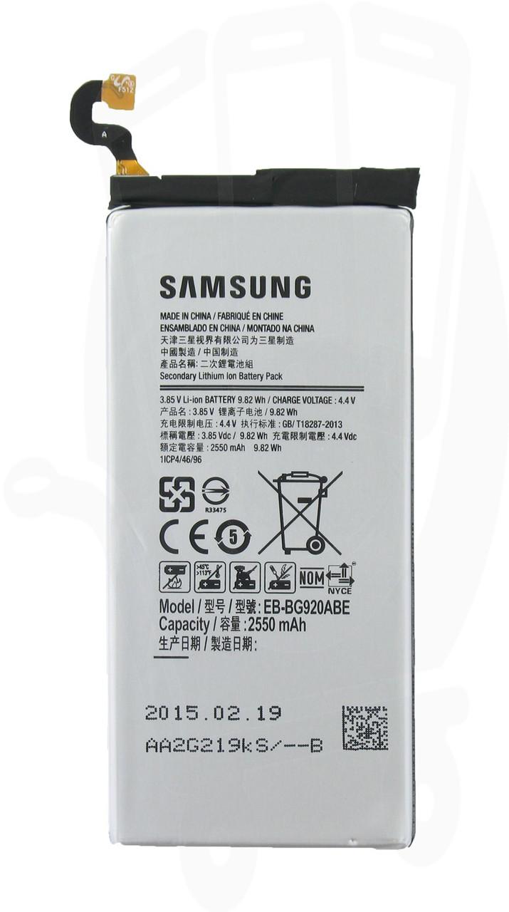 Аккумулятор к телефону Samsung S6/G920