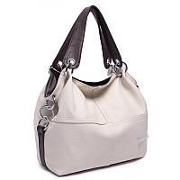 Женская стильная сумка WEIDI POLO (Бежевый)