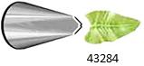 Наконечник кондитерский листик, (маленький наконечник), нерж ATECO 4030284/66