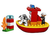 LEGO DUPLO Town Пожарный катер 10591 Fire Boat Building Kit
