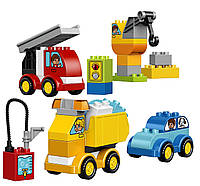 Lego duplo Мои первые машинки и грузовики My First Cars and Trucks Educational Preschool Toy Building Blocks