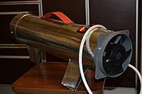 Электрическая пушка 4 кВт, тепловая пушка спиральная 2+2 кВт