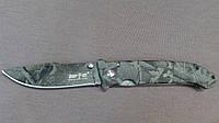 Нож складной Камуфлированный Хамелеон Армейский Военный Хищник. Оригинальные фото