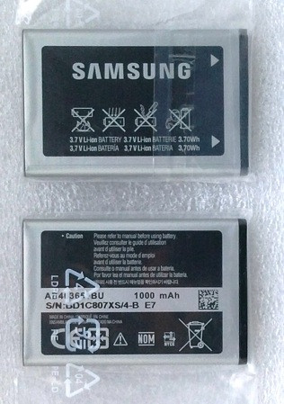 Аккумулятор к телефону Samsung GT- S3650, S5610, L700, F400