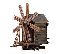 Картонная модель ветряная мельница (о. Кижи) 181 Умная бумага