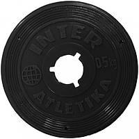 Inter Atletika Диск Inter Atletika SТ 520-1 (0.5 кг)