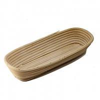 Корзинка для расстойки теста из ротанга KoMo овальная форма, фото 1