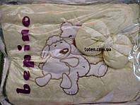 Детский постельный комплект Bepino 8 предметов Мишка и овечка