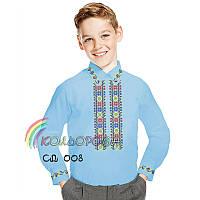 Заготовка для вышивки сорочки мальчик