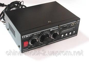 Усилитель звука (ресивер) UKC SN-777BT c Bluetooth, MP3/SD/USB/AUX/FM 12v / 220v, фото 2