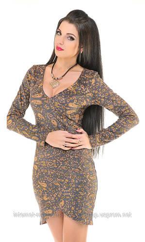 Платье женское узор