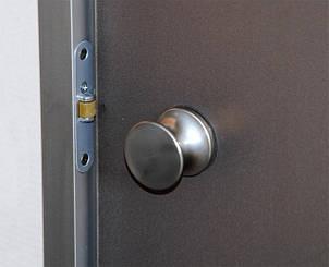 Дверь в хамам стеклянная Classic (матовая бронза), фото 2
