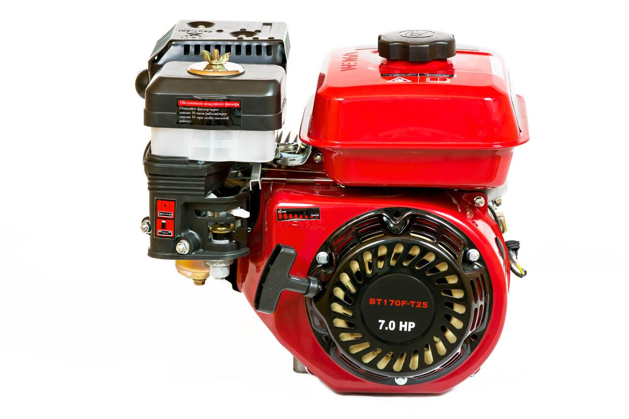 Двигатель бензиновый WEIMA BT170F-Т/25 (вал под шлицы)