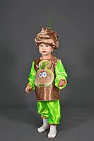 Детский костюм Лук Чиполлино на праздник Осени. Карнавальный маскарадный костюм мальчиков и девочка